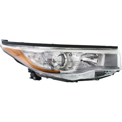 New Right Head Light Assembly For 2014-2016 Toyota Highlander To2503225C Capa