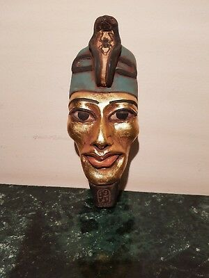 Rare Antique Ancient Egyptian Mask King Akhenaten1st worship1 God Sun1353–1336BC
