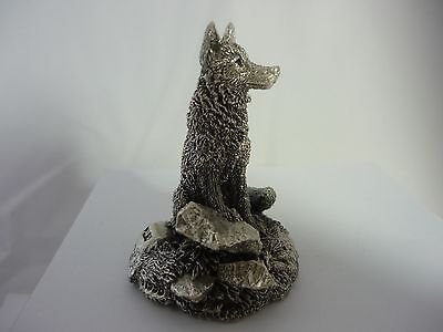 Stunning Rare Sterling Silver Fox By Comyns Of London Original Case