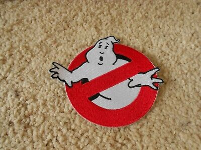 """Ghostbusters Movies No Ghosts Logo Embroidered Iron/Sew On Patch 3.5"""" READ"""