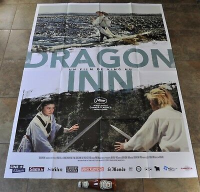 DRAGON INN Movie Poster - MASSIVE - NEW - King HU - French - Shih Chun CRITERION