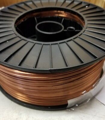 40 Lb .035 Spool Mild Steel MIG Welding Wire Roll ER70S-6 Copper Coated