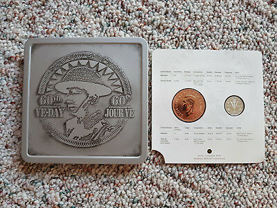 2005 60th Anniversary of Canadian VE-Day Commemorative Coin & Medallion Set