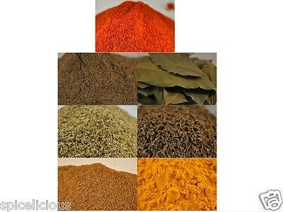 7 Spice pack | Spices to make perfect curries | spice mix | curry powder