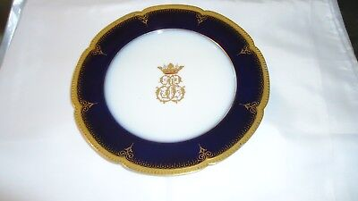 antique Victor Etienne  Rue Paradis French  Plate Paris  RARE