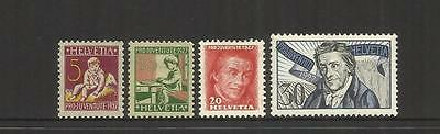 Switzerland ~ 1927 Pro Juventute Children Charity Stamps