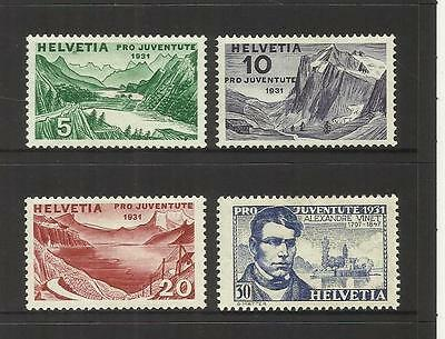 Switzerland ~ 1931  Pro Juventute Children Charity Stamps