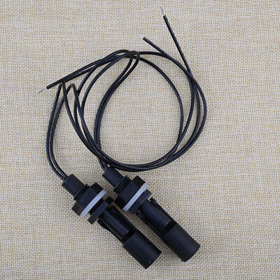 2PCS Liquid Water Level Sensor Horizontal Float Switch Mount For Fish Tank Pool