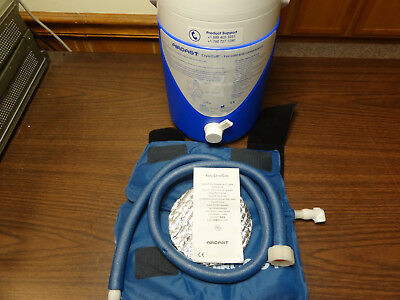 Aircast Cryo/cuff Gravity Fed Medium Knee Cuff Cooler Cold Compression Therapy