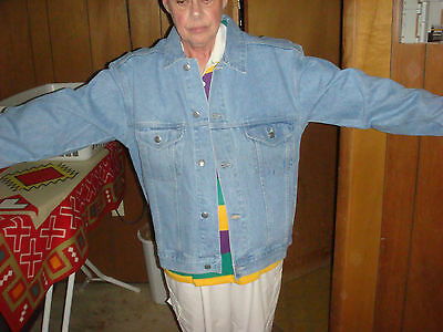"""Pepsi Denim Jean Jacket Men's M """"Nothing Else is a Pepsi"""" BRAND NEW With TAGS!!"""