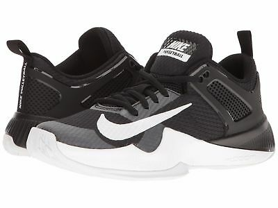 3c8300b0a5469 2017 WOMEN S NIKE Air Zoom Hyperace Volleyball Shoes BLACK WHITE NWT ...