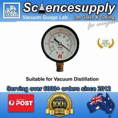 Analogue vacuum gauge manometer Ideal for Chemistry and labwork