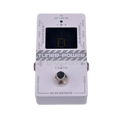 Caline CP-09 Guitar Tuner & Power 2-in-1 Electric Guitar Effect Pedal
