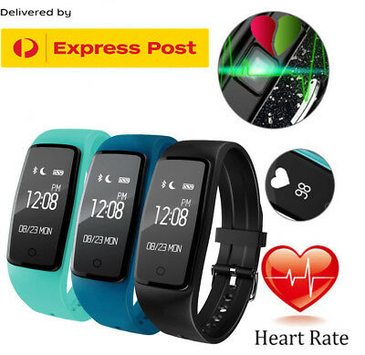 Fitbit style Sports Fitness Tracker Watch Waterproof Heart Rate Activity Monitor