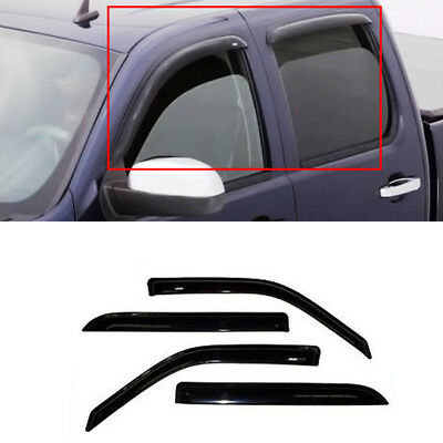 5pcs For 02-08 Dodge Ram 1500 2500 3500 Quad Crew Cab Vent Window Visor Moonroof