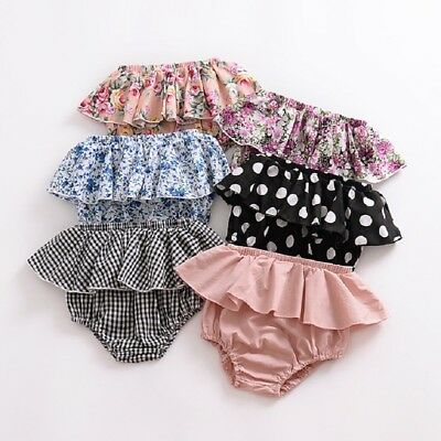 AU Newborn Baby Boy Girl Kids Harem Pants Shorts Bottoms PP Bloomer Panties 0-3T