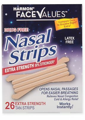 Harmon Face Values 26-Count Extra-Strength Large Nasal Strips