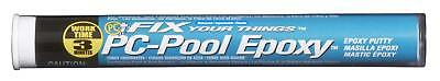 PC Products 41116 PC-Pool Moldable Epoxy Putty, 4 oz Stick, Off-White