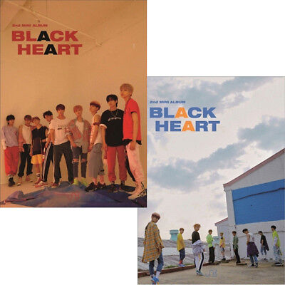 UNB [BLACK HEART] 2nd Mini Album CD+POSTER+Photo Book+2p Photo Card K-POP SEALED