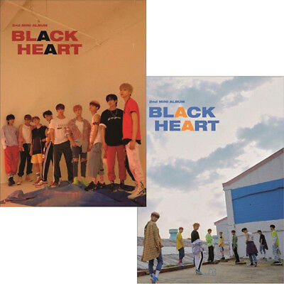 UNB BLACK HEART 2nd Mini Album 2Ver SET 2CD+POSTER+2ea Photo Book+4p Card SEALED