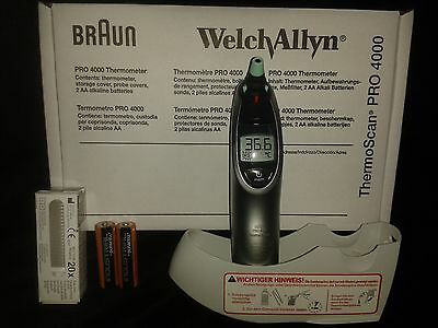 Welch Allyn Thermoscan Pro4000 Braun Ohrthermometer Infrarot