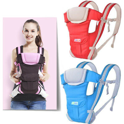 Adjustable Newborn Infant Baby Carrier Wrap Sling Backpack Breathable Ergonomic