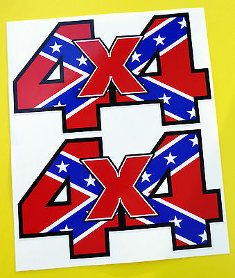 4X4 Off Road Stickers Decals 'general Lee'