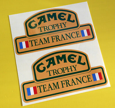 CAMEL TROPHY Team FRANCE 4X4 OFF ROAD STICKERS DECALS Land Rover Defender
