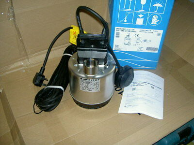 LOWARA submersible pump with float DOC3/A HS L17 2018 MODEL BRAND NEW BOXED