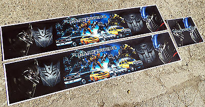 Tamiya 1/14 scale Truck 'TRANSFORMERS' Themed Reefer trailer stickers decals set