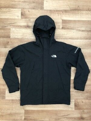 The North Face Weather Proof Zip Up Hoodie Jacket Parka Shell Black Men's S