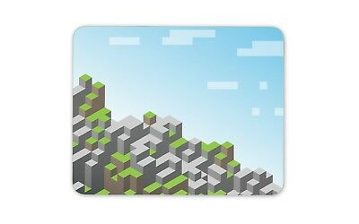 Cool Block Building Game Mouse Mat Pad - Gamer Gaming Kids Gift Computer #13191