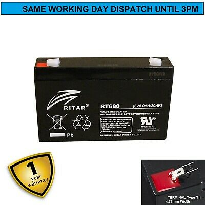 3fm7, Battery, 6 volt 7 amp, (8Ah) Sealed Lead Acid, Rechargeable