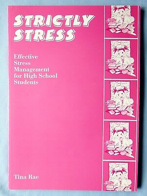 Strictly Stress: Effective Stress Management: Tina Rae. As new with CD