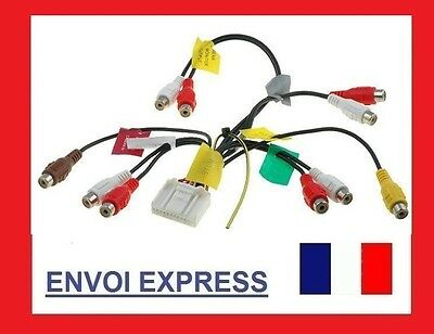 RCA Pre Out Phono Cable Lead Wiring Harness Connection for Pioneer AVIC-X1