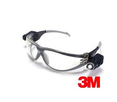 1cc7424e732 3M DUAL LED SAFETY GLASSES Light Vision
