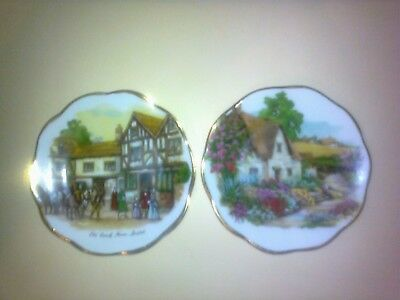 "Fenton China Company ""Old Coach House"" Plus ??Two x English Bone China, (78mm)"