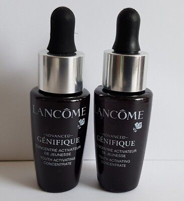 Lancôme Advanced Genifique Youth Activating Concentrate, 2X 8ml. New