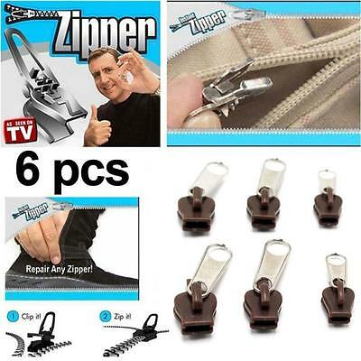 Instant Zippers Magic Zipper Fix Clip Quick Fast Easy Fix Universal Zipper TR