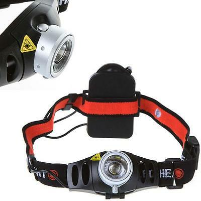 Ultra Bright 3500 Lumen  Q5 LED Zoomable Headlamp Headlight Head Torch TR