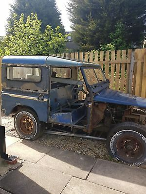 Land rover series 2a 1969 barn find