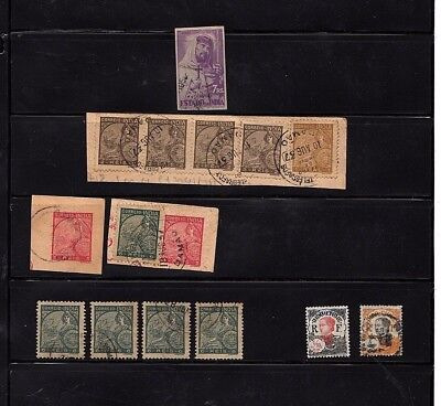 PORTUGUESE INDIA: selection used on hagner sheets