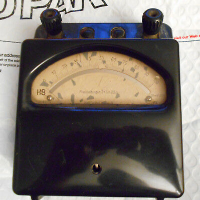 Hartmann & Braun of Germany electronic measuring device