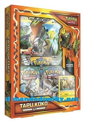 Pokemon Tapu Koko Box in italiano disponibile dal 21 GIUGNO 2017
