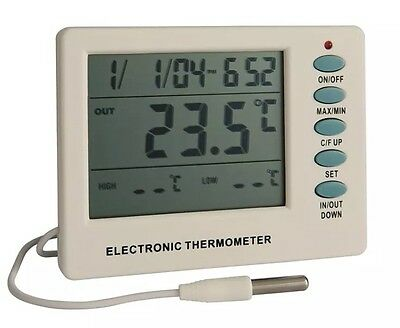 Gardman Digital Min Max In Out Thermometer & Soil Tester