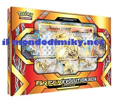 Pokemon Break Evolution Box Arcanine in inglese disponibile dal 20 genn 2017