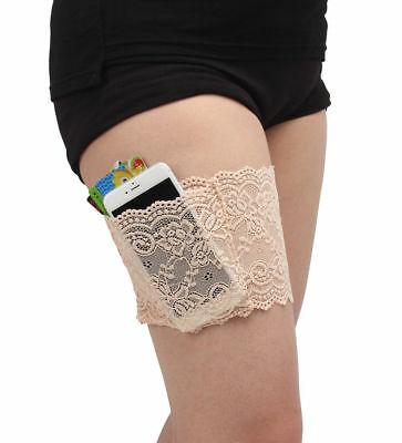 Women Lace Elastic Socks Non Slip Anti-Chafing Thigh Legs Bands Prevent Chafing