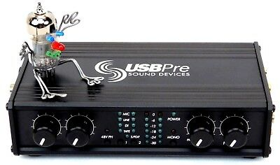 Sound Devices USBPre Audio Interace Mic Preamp High End + Neuwertig + Garantie