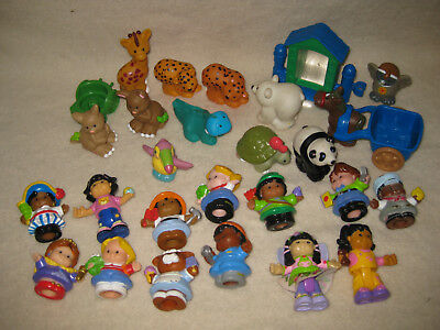 Collection Of Fisher Price Little People And Animals