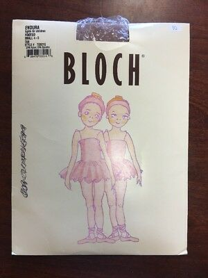Bloch Endura Footed Tights Children Size Small 4-5 Tan T0921G